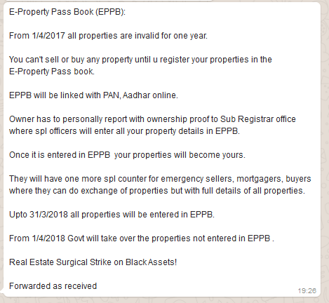 property pass book