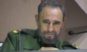 Cuban Dictator Fidel Castro