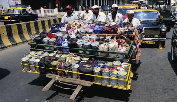 Mumbai dabbawalas